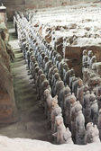 Chinese Xi'an Terracotta Army — Stock Photo