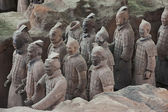 Chinese Xi'an Terracotta Army — Foto Stock