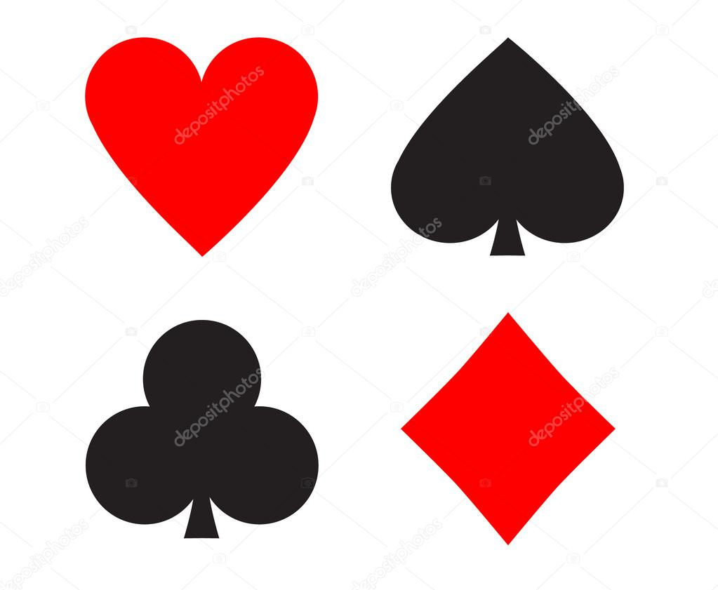 Simple Playing Cards Signs