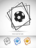 Soccer Ball Vector — Stock Vector