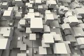 Abstraktní geometrické krychle tvaru — Stock fotografie