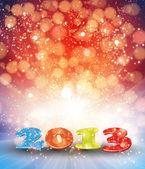 šťastný nový rok 2013 — Stock vektor