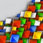 Color Banner Design — Stock Vector