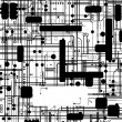 Royalty-Free Stock Obraz wektorowy: Seamless pattern, Computer circuit board