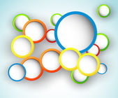 Abstract Circle Design — Vector de stock