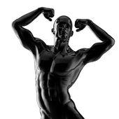 Fisiculturista forte — Foto Stock