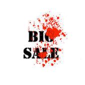 Big Sale Paper, easy all editable — Stock Vector