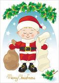 Small Santa Claus — Stock Vector