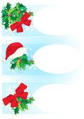Banners de natal — Vetorial Stock