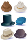 Hats — Vector de stock