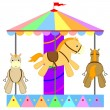 Stock Vector: Carousel
