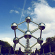The Atomium in Brussels — Stock Photo