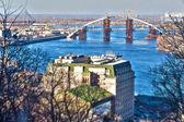 Panorama de kiev — Foto Stock