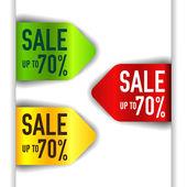 Groene, rode en gele element vector - punt, koop tot 70 procent korting — Stockvector