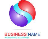 Sphere logo — Stock Vector