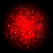 数字红色散景 — 图库照片