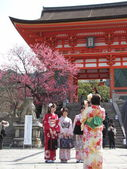 JAPAN KYOTO-Kiyomizudera Temple — Stock Photo