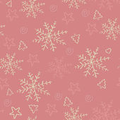 Snowflakes background. — Stock Vector