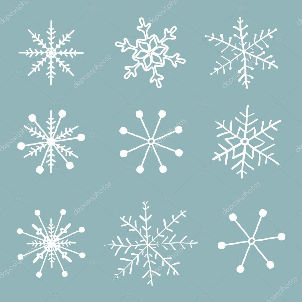 simple snowflake drawing images reverse search