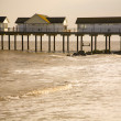 The old pier at Southwold — Stock Photo