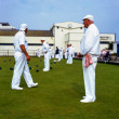 Stock Photo: Whites, Teignmouth Bowls, Devon