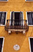 Architecture Facade, Venice, Italy — Stock Photo