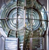 Fresnel Lens, Inside Havana Lighthouse, Havana, Cuba — Stock Photo