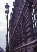 Street Lamps, Paris, France — Stock Photo