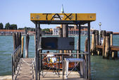 Canal Taxi, Venice, Italy, 2009 — Stock Photo