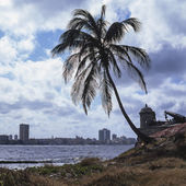 View from El Morro Fort, Havana, Cuba, 2010 — Stock Photo