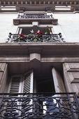 Balcony Facade, Paris, France 2010 — Stock Photo