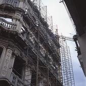 Scaffolding, Havana, Cuba — Stock Photo