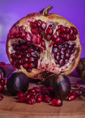 Pomegranade color — Foto Stock
