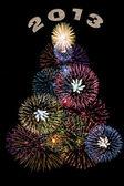 Drzewo fajerwerki — Zdjęcie stockowe