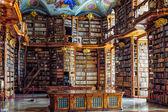 Stiftsbibliothek St. Florian - Library of the Monastery St. Florian, Linz, Austria — Stock Photo