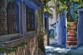 Streets of Chaouen — Stock Photo