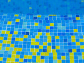 Pool tiles — Stock Photo