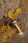 Brass tap — Stock Photo