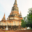 Wat in Ayutthaya — Stock Photo