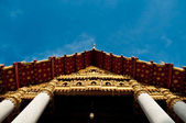 Front of Mable temple — Stock Photo