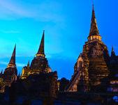 ταϊλάνδης αρχαίου ναού — Φωτογραφία Αρχείου