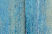 Blue painted wooden door — Stock Photo
