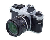 Classic and antique camera — Stock Photo