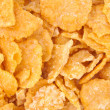 Sugar-coated corn flakes — Stock Photo