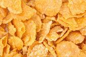 Sugar-coated corn flakes — Stock Photo