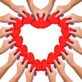 Conceptuele symbool van de liefde — Stockfoto