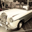 Mercedes-Benz 220S Cabriolet - Stock Photo