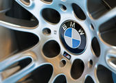 BMW's wheel — Stock Photo