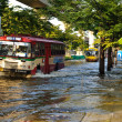 Severe flood in Bangkok, Thailand — стоковое фото #18468577