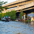 Severe flood in Bangkok, Thailand — стоковое фото #18469337